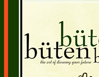 büten Magazine Cover Design