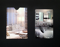 W Hotel Room Key & Holder