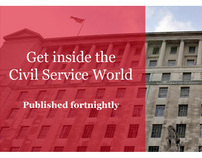Civil Service World website redesign