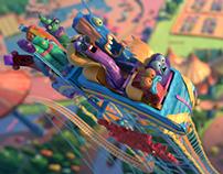 Fruitsnackia: Roller Coaster