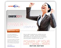 Exhibitforce.com Quarterly Email Blast