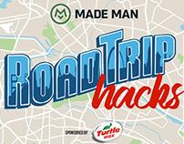 Road Trip Hacks Logo for Turtle Wax