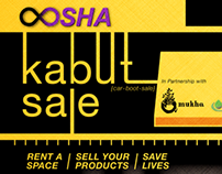 OOSHA Kabut (Carboot) Sale - Charity for Gaza