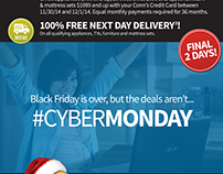 Conn's Cyber Monday Email