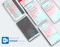 Microsoft Outlook Concept for Android