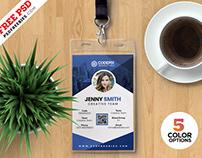 Photo Identity Card Templates PSD
