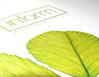 Inform magazine: Editorial Design for SAS Institute