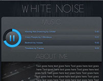 White Noise - Circle jPlayer