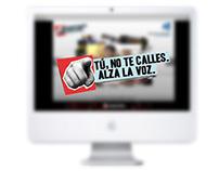 No Te Calles, Alza la voz. CC