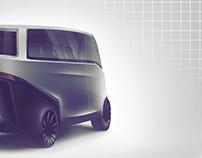 Mahindra Navistar Premium minibus