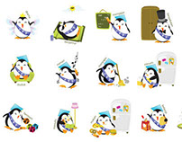 AKU mascot design