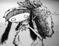 DND Sketch Battle Part 2 (Bone Collector)