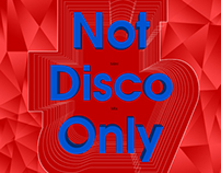Not Disco Only Mini Mix Music Cover