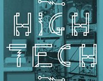 High Tech Font