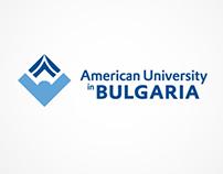 Logo design: American University in BG identity contest