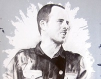 Ted Leo Screenprint