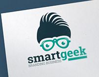Smart Geek Logo Template