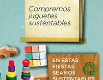 Campaña Fin de año Sustentable Facebook