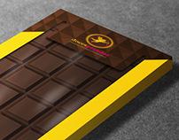 Embalagem para tablete de chocolate