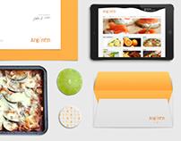 Restaurant: webdesign, branding, stationery