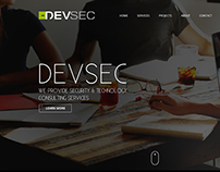 Devsec Website Design