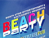 Beach Party | Flyer Design