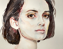 Watercolour Portraits ii