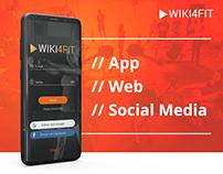 WIKI4FIT – App / Web