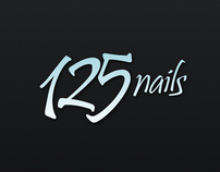 125 Nails corporate image