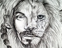 snoop lion drawing