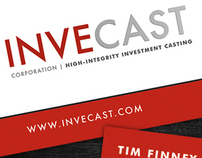 InveCast Corporation Business Card