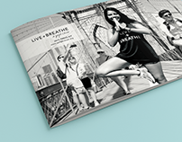 brochure design for a nonprofit