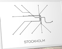 Stockholm Subway Map