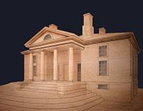 Barboursville - historical building model