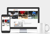 Mikron Çelik Web Site Tasarımı