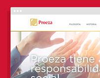 Proeza — Website