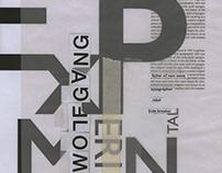 Poster: Wolfgang Weingart Homage