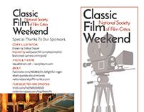 Tri-Fold Brochure: Classic Film Weekend