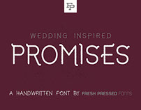 Promises - Display Font