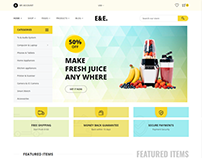 E&E – Electronics Shopify Theme + RTL + Dropshipping