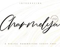 Charmelya - Handwritting Script Font