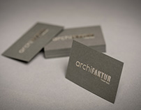 Business Card archifaktur hotel+spa