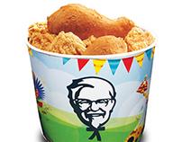 KFC FESTIVAL BUCKET