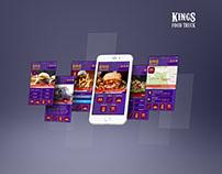Kings Food Truck App