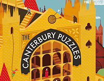 'The Canterbury Puzzles' book cover