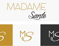 Identidade Visual - Logotipo Loja Madame Sante