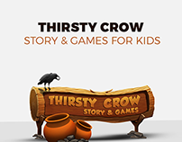 Thirsty Crow- Story & Games for iPad