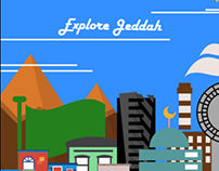 Adobe #iconcontestXD - My Creative City Jeddah.