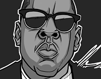 Jigga (Jay-Z Illustration)
