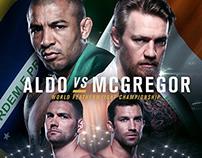 UFC TITLE FIGHT Keyart